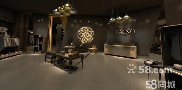 成都五境装饰工程有限公司服装店装修设计