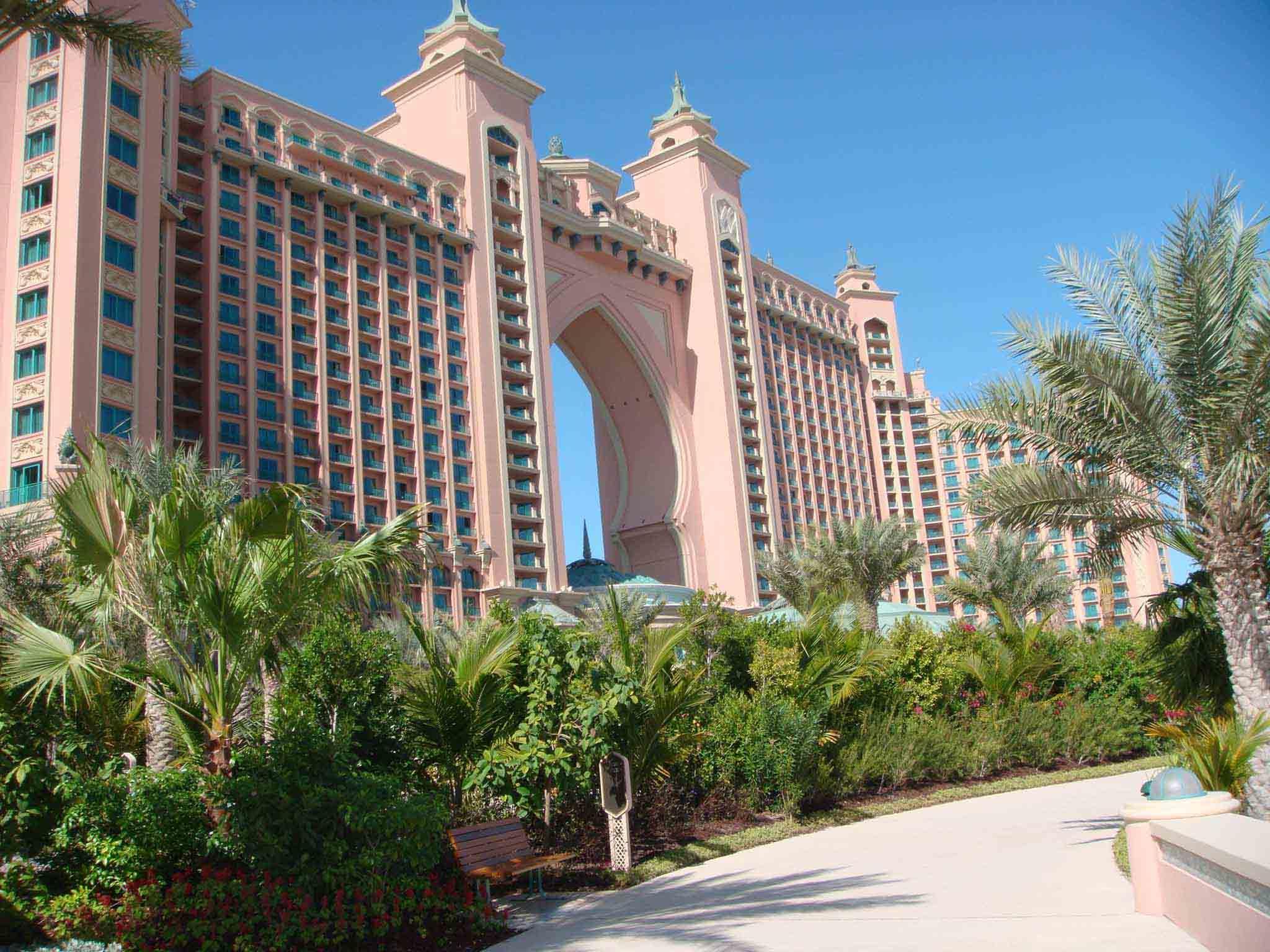 棕榈岛上 亚特兰蒂斯酒店