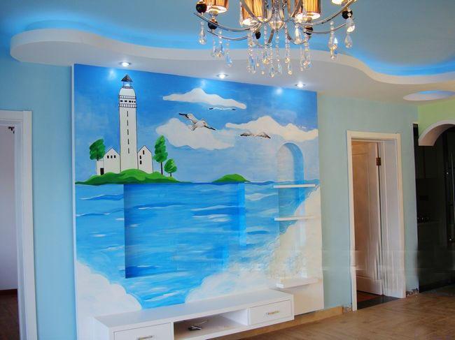 美庐艺术墙绘公司