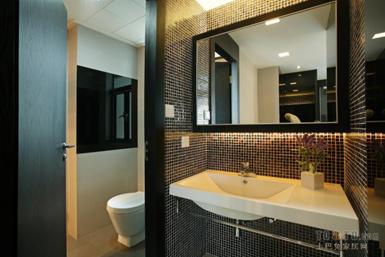 主卧卫生间改衣帽间 两室一厅小卫生间装修效果图