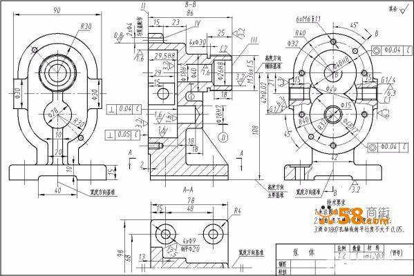 cad教室电路施工图
