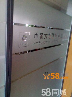 磨砂玻璃门现代花纹图片